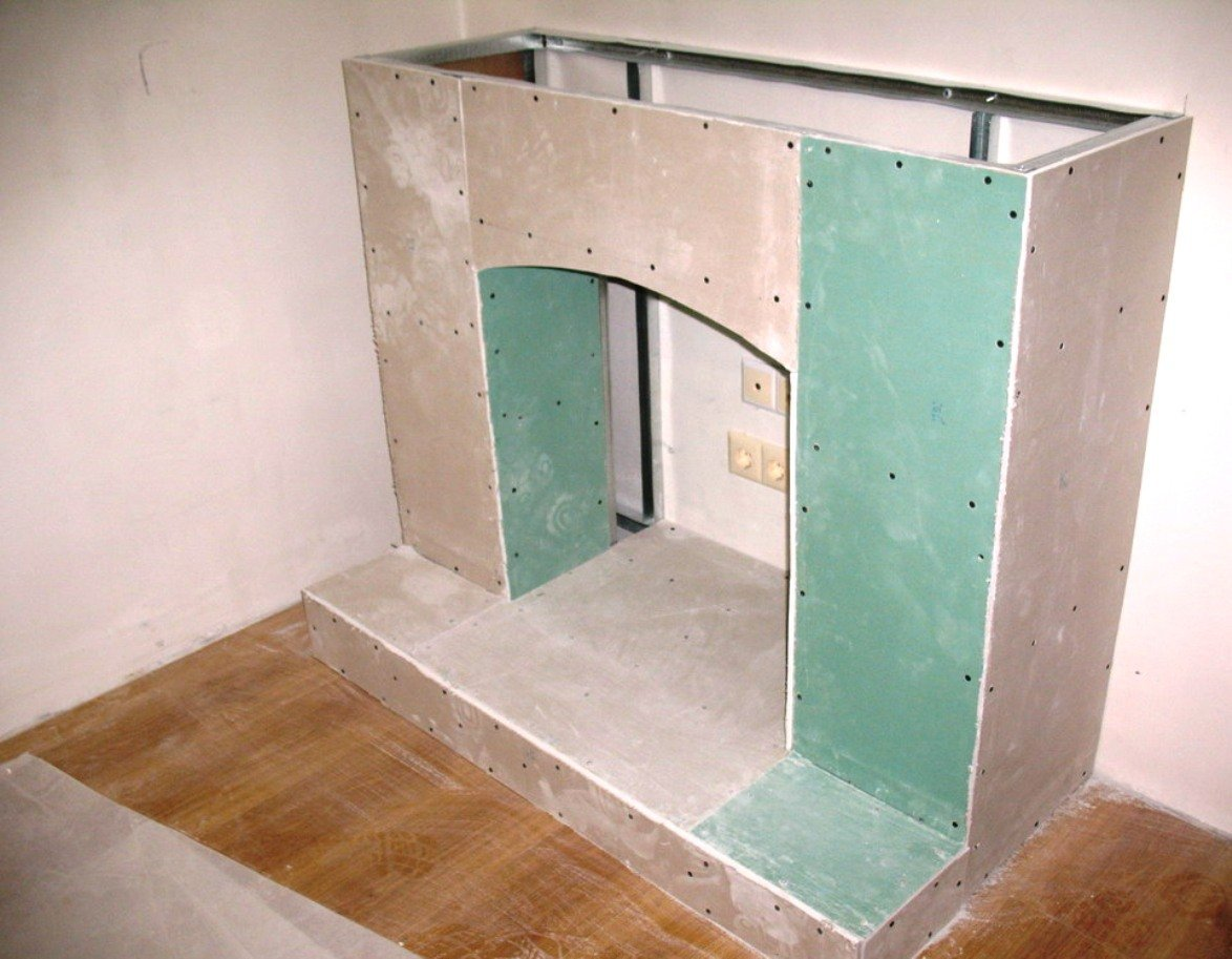 Угловой короб из гипсокартона пошаговая инструкция с фото