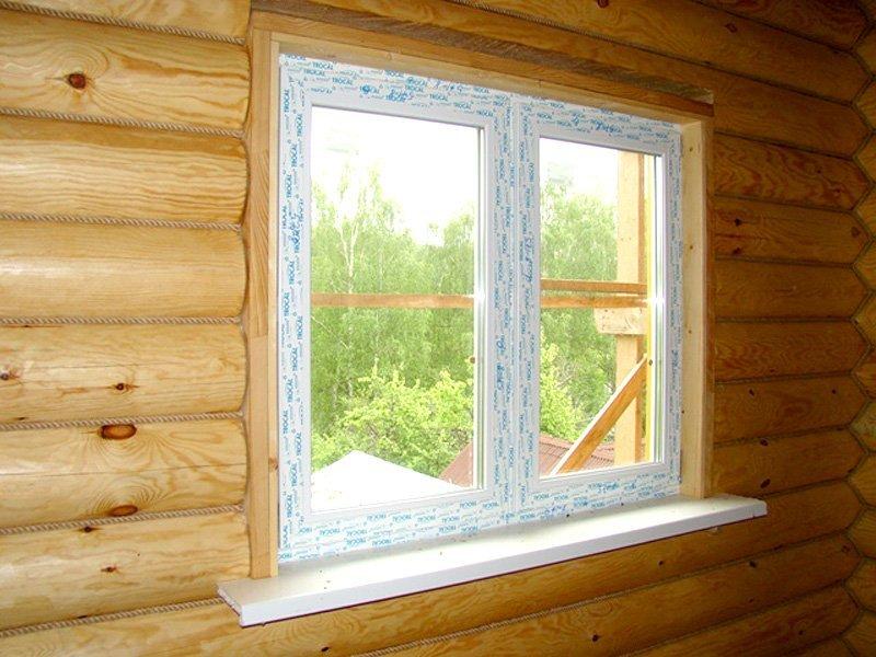 Отделка окна внутри дома своими руками