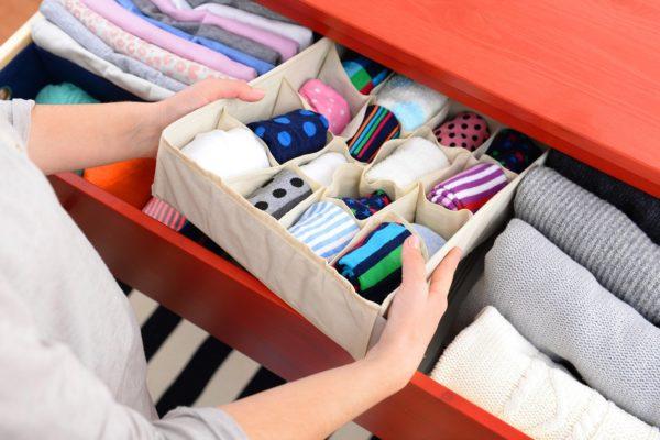 В чем хранить носки