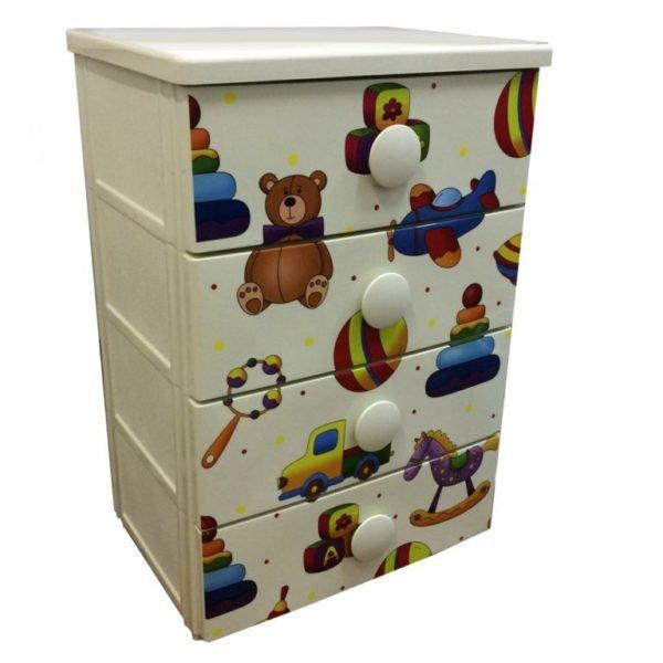 Оригинальный дизайн шкафа для детской комнаты