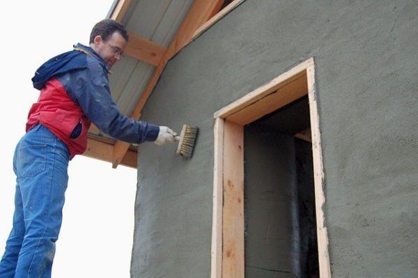 Оштукатурить деревянный дом не так уж и просто и точно не быстро