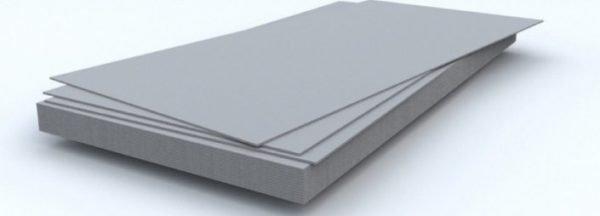 Основные компоненты плит – цемент и древесная стружка