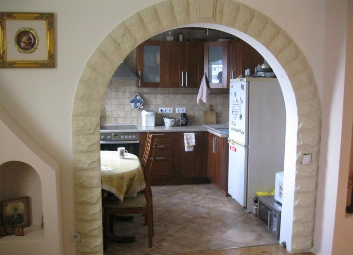 Межкомнатные арки в интерьере: фото 41