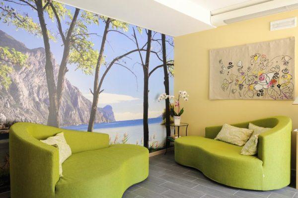 Отделка стен может быть не только экологически чистой, но, и выглядеть экологично