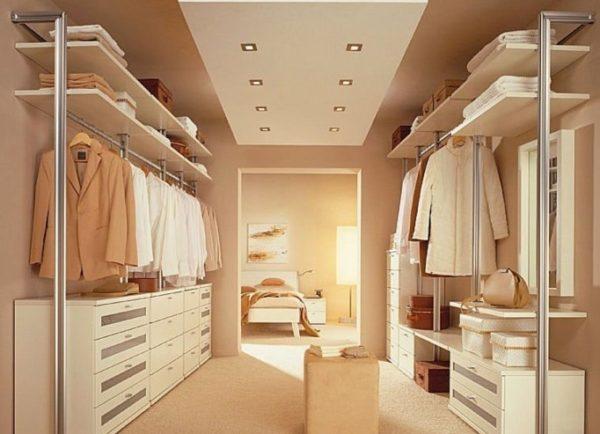 Отдельное помещение для хранения вещей