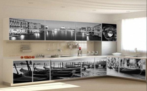 Панорамные изображения визуально делают комнату более широкой