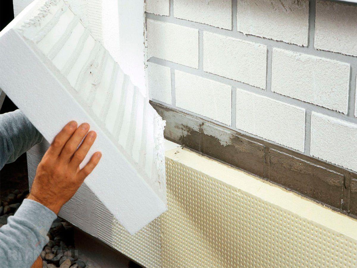 Монтаж теплоизоляционных pir плит своими руками