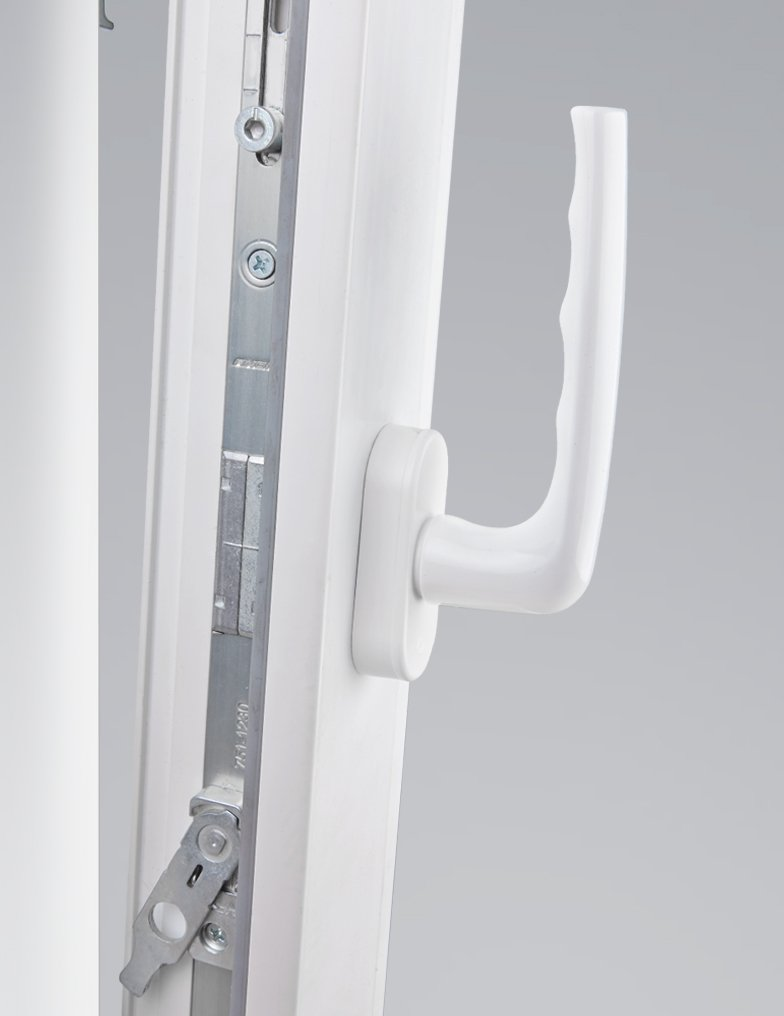 Балконная ручка для двери: пластиковые, двухсторонние и друг.