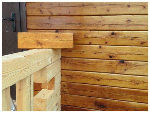 Pinotex Wood подчеркивает естественную структуру дерева