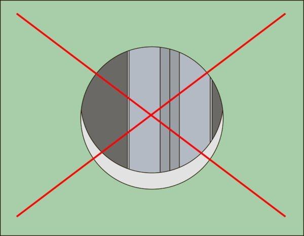 Планируйте каркас так, чтобы стойки не совпадали с отверстиями под розетки и выключатели
