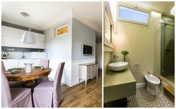 Пластиковая конструкция считается хорошим выходом для тех, кто не хочет расставаться с форточкой в ванной.