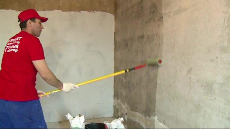 Грунтовка стен в квартире своими руками