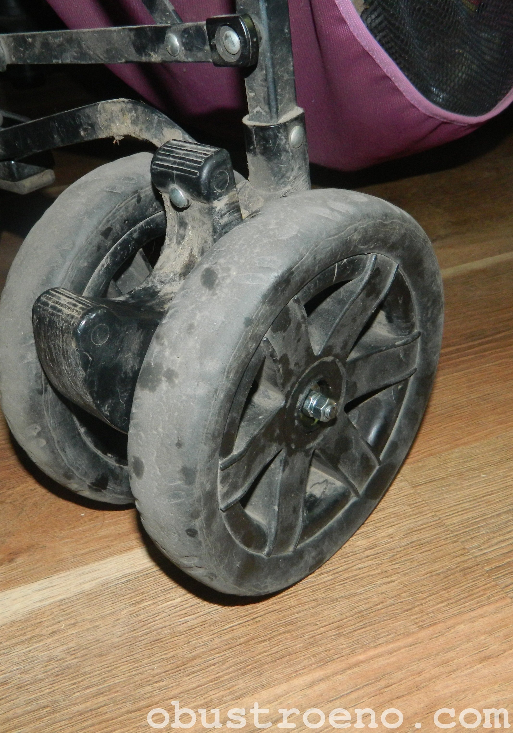Ремонт колеса на коляске своими руками 737