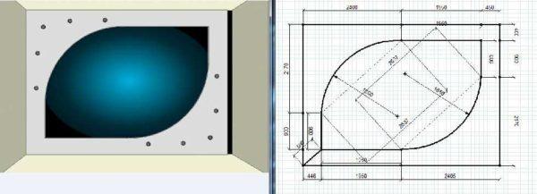 Подготовка эскиза это важный этап создания комбинированного потолка.