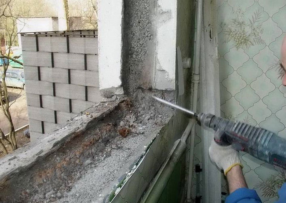 Установка пластиковых окон на балконе и лоджии своими руками.