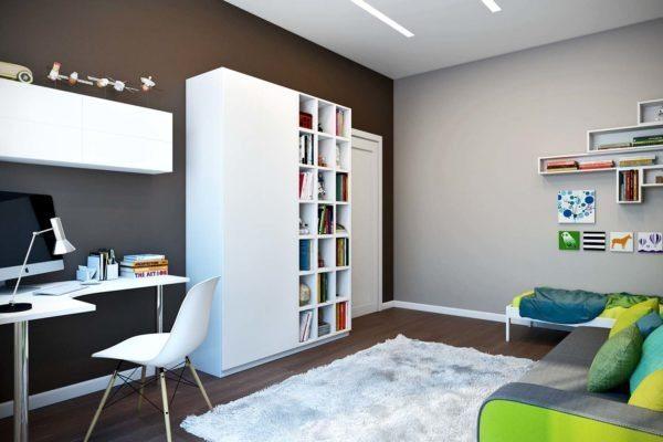 Покраска — недорогой и экологичный вариант отделки стен
