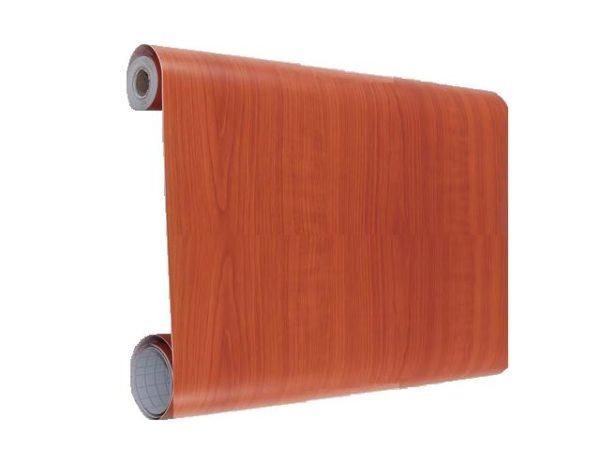 Полотна Decoron Вишня отлично справляются с имитацией деревянной облицовки