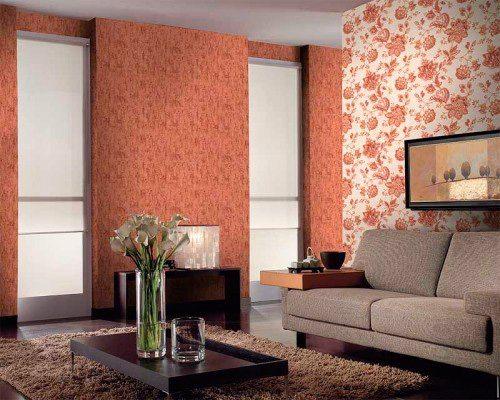 Полотна желательно использовать в помещениях, где стенам не требуется частая влажная уборка