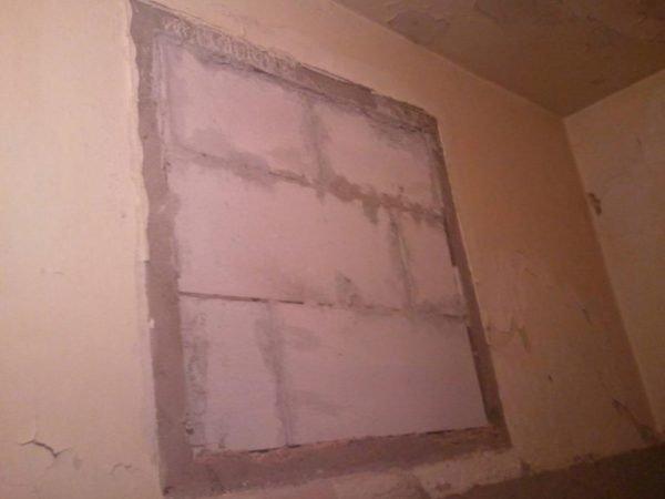 Пористые виды бетона требуют обязательного оштукатуривания.