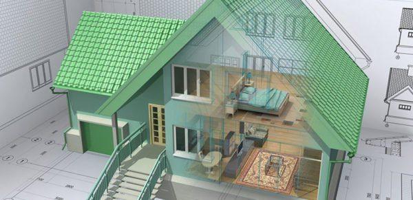 Построить красивый дом самому вполне реально.