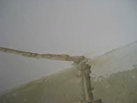 Потолочная штроба в штукатурном слое