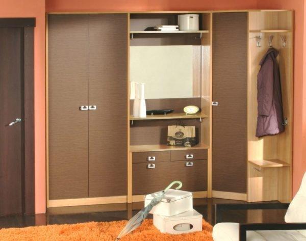 Правильно подобранный шкаф делает прихожую удобнее и привлекательнее