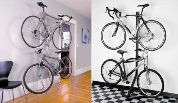Преимущество такой стойки в том, что вы сможете ее использовать для простого ремонта и обслуживания велосипеда, начиная с настройки трансмиссии и оканчивая правкой колёс