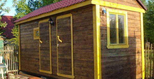 При грамотном подходе комфортную баню можно построить с минимальными затратами