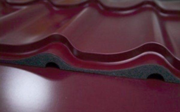 При укладке МЧ с минимальным наклоном может потребоваться уплотнитель