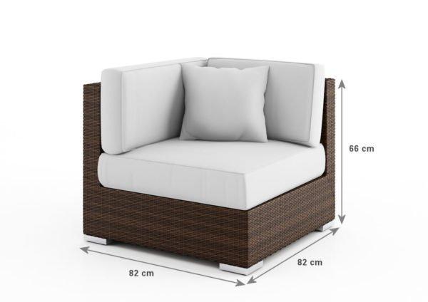 При выборе углового кресла-кровати желательно выбирать модель, которая способна раскладываться в обоих направлениях.