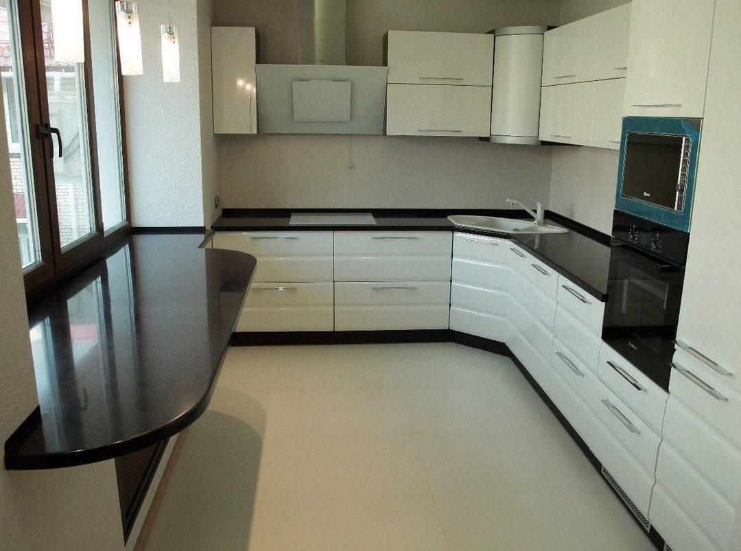 Как сделать подоконник на кухне фото 781