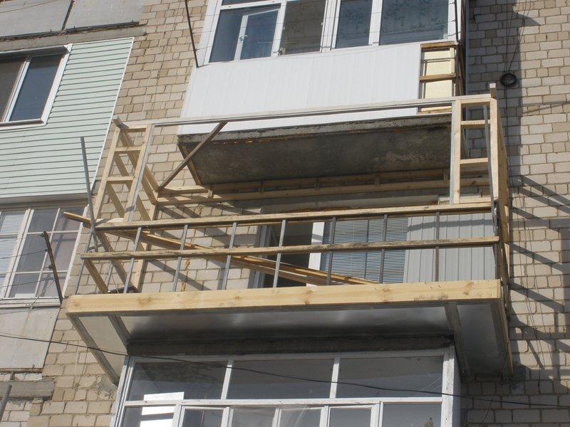 Установка балкона своими руками 42