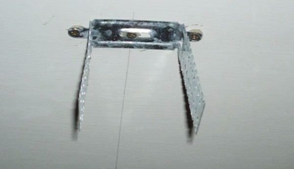 Пример монтажа подвеса по разметке