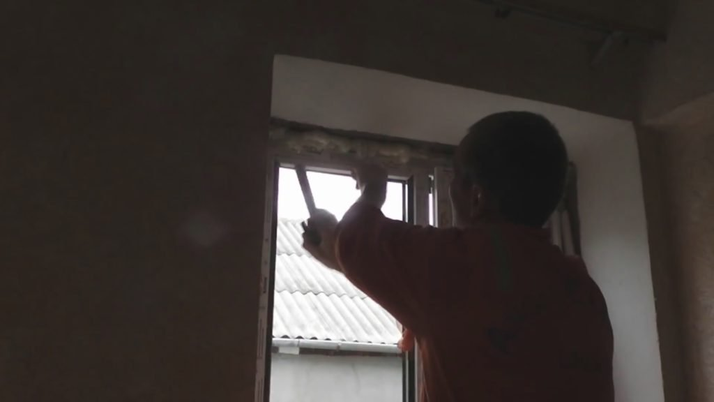 Как разобрать пластиковое окно своими руками 65