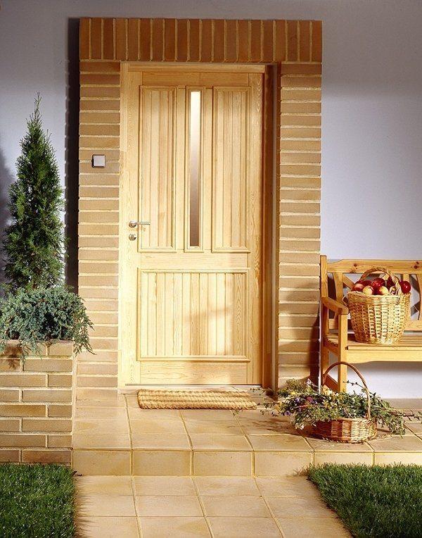 входные двери отделка дерево