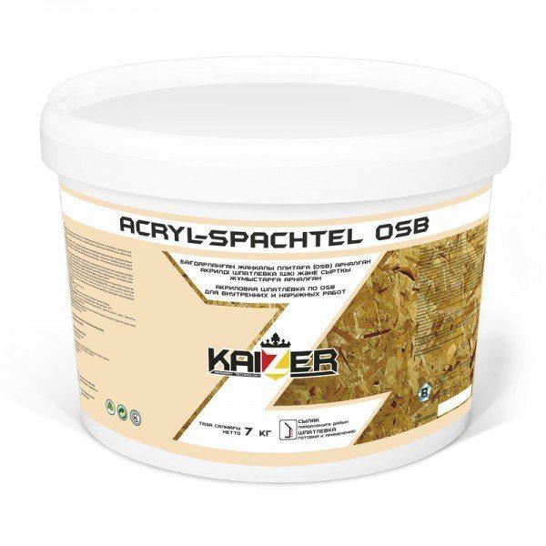 Продукт от Кайзер изначально ориентирован на ОСП (OSB).