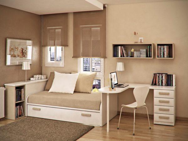 Продуманный дизайн способствует созданию уюта в спальне