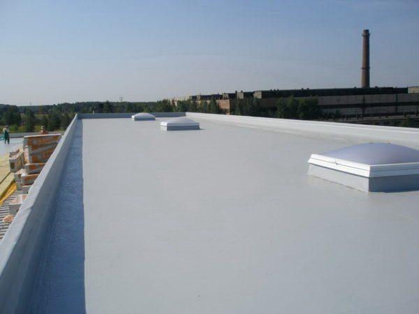 ПВХ мембраны применяются для изоляции плоских крыш