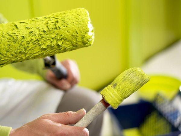 Работа с любыми красками должна сопровождаться мерами личной безопасности: используйте перчатки, респираторы