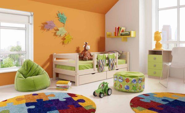 Расположение в детской комнате