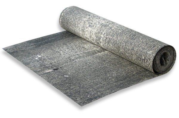 Рубероид – самый дешевый рулонный материал