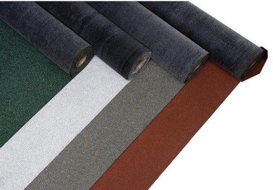 Рулонные материалы изготавливаются на основе битума