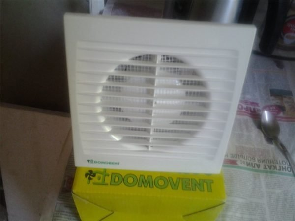 Самая дорогостоящая часть проекта – вытяжной вентилятор.