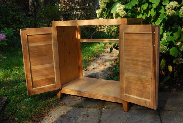 Самодельный шкаф для раковины