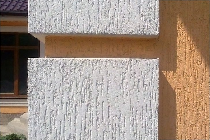 Отделка наружных стен дома декоративными панелями, камнем и .
