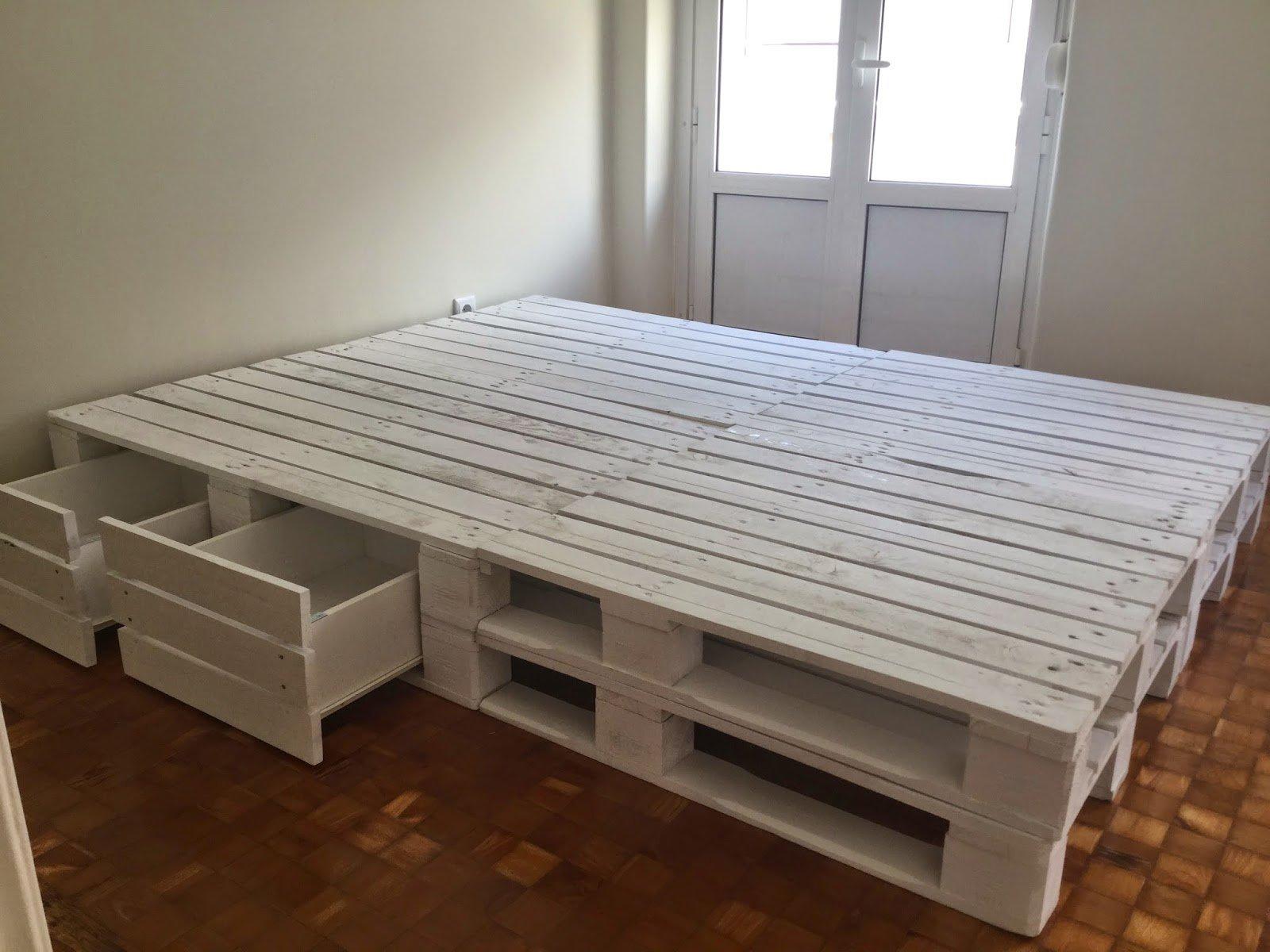 Кровать из поддонов своими руками фото 486