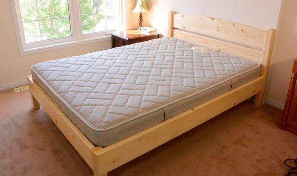 Сделать кровать самостоятельно намного проще, чем вы думаете