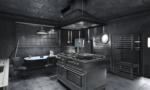 Серая кухня – серое настроение
