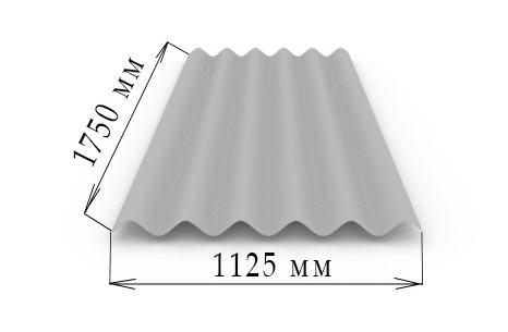 Шести волновой материал ориентирован на монтаж в ветреных районах.