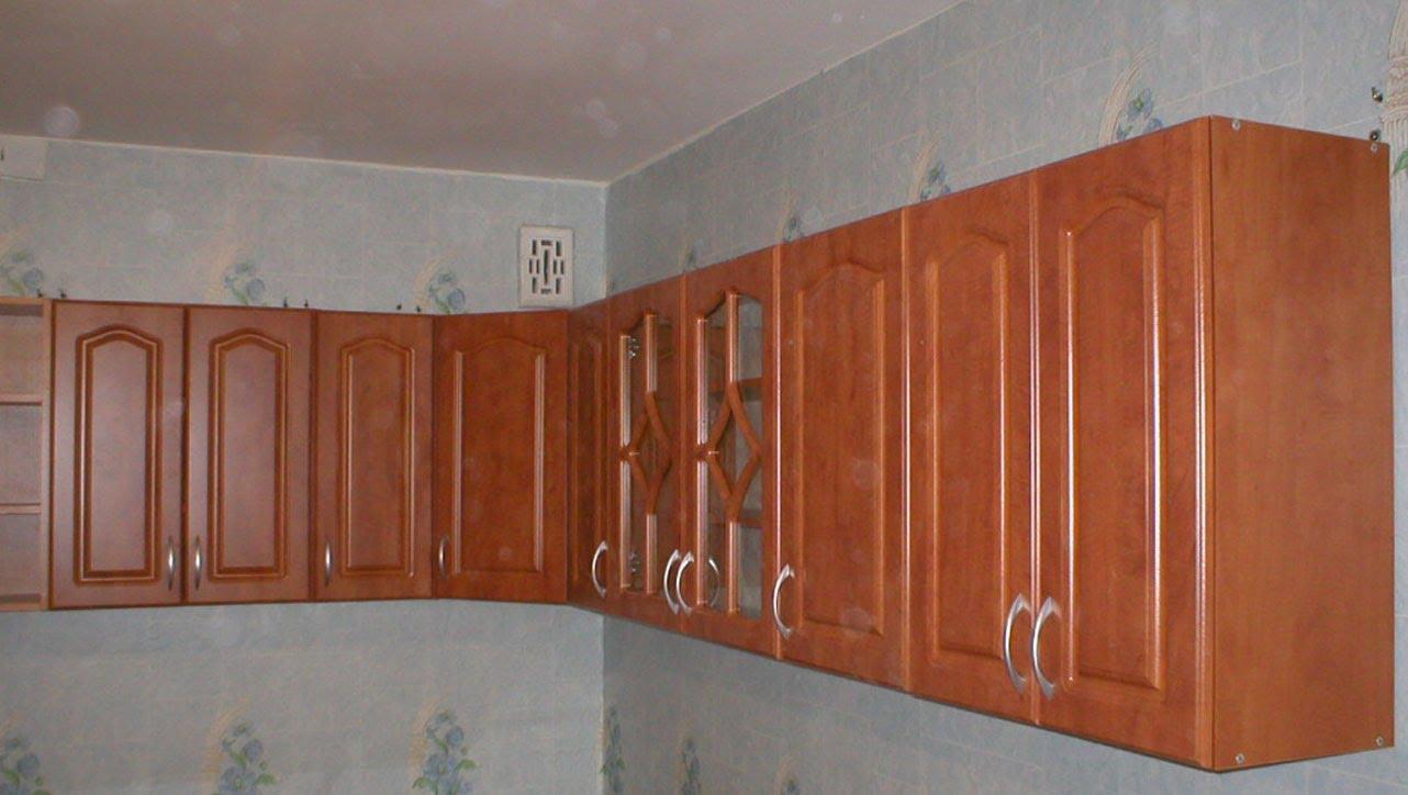 Как повесить кухонные шкафы